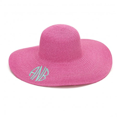 Hot Pink Adult Floppy Hat