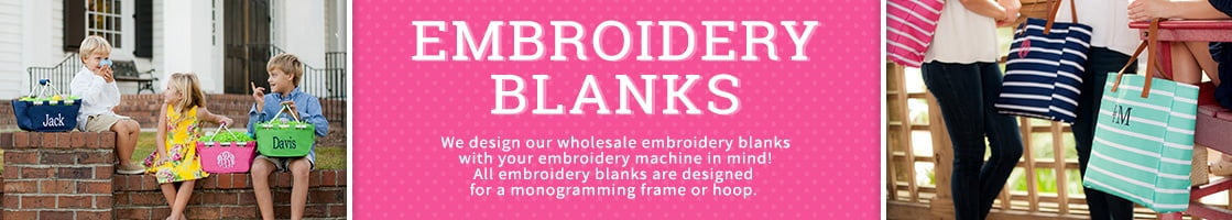 Wholesale Embroidery Blanks
