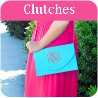 Monogram Clutches