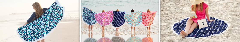 Round Towel - Sand Circle