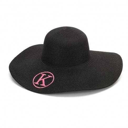 Black Adult Floppy Hat