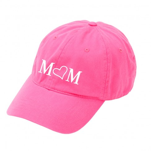 Mom Hot Pink Cap