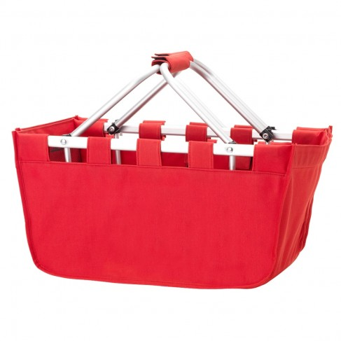 Red Market Tote