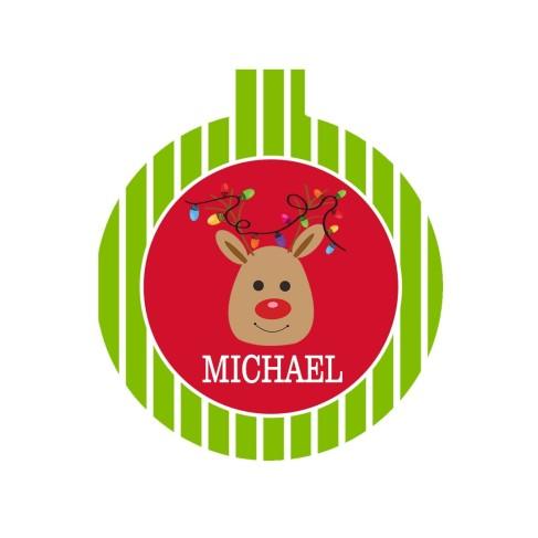 Kids' Reindeer Ornament