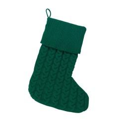Hunter Green Knit Stocking