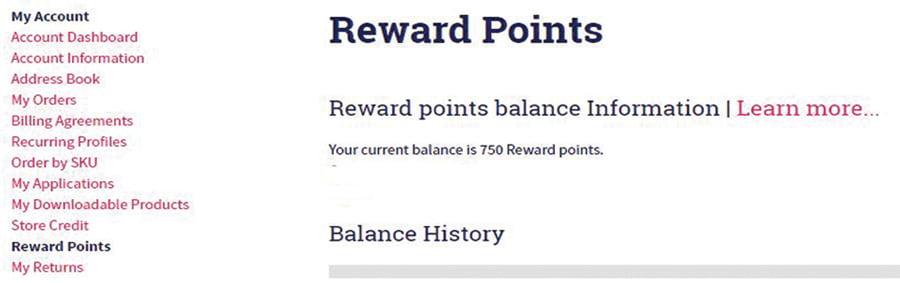 Check your Balance