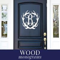 Wood Monogram