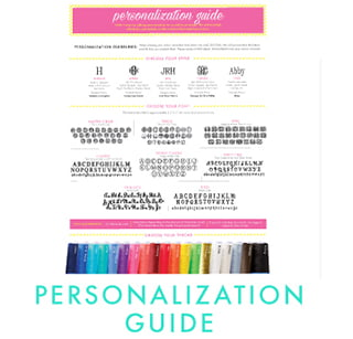 Personalization Guides